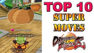 Download Dragon Ball FighterZ - Top 10 Super Moves Video