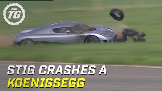 Download Stig Crashes Koenigsegg CCX (HQ) | Top Gear | Series 8 | BBC Video