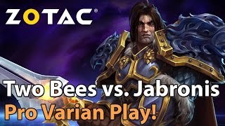 Download ► Heroes of the Storm Pro Varian Play: Two Bees vs. Jabronis - ZOTAC Monthly Final Video