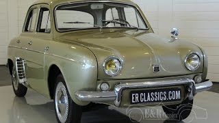 Download Renault Dauphine export modell 1964 discbrakes and 4 speed gearbox -VIDEO- ERclassics Video