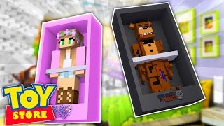 Download Minecraft TOYSTORE : FREDDY FAZBEAR DOLL KIDNAPS BARBIE! w/LittleKelly,Carly & TinyTurtle (Roleplay) Video