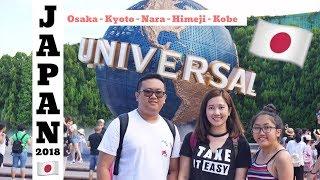 Download Japan 2018 : 6 days in Osaka, Kyoto, Nara, Kobe & Himeji (Watch in HD) Video