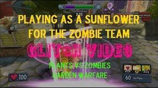 Download Sunflower on the Zombie Team: PvZ Garden Warfare Glitch Video
