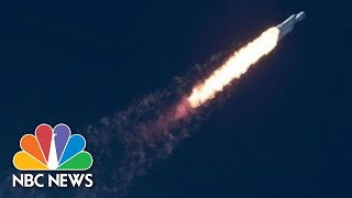 Download Watch Live: SpaceX Falcon Heavy Rocket Launches From Florida | NBC News Video