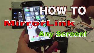 Download How To Add Mirrorlink to any screen you want with Apple or Android Video