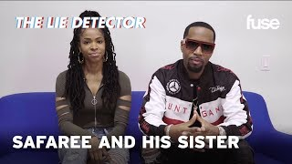 Download Safaree and His Sister Take A Lie Detector Test Video