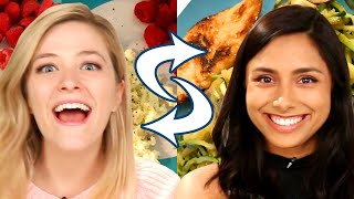 Download Best Friends Swap Diets For A Week • Kelsey and Michelle Video