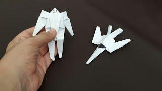 Download Kağıttan Transformers Yapımı( UÇAĞA DÖNÜŞEN ROBOT !) Video
