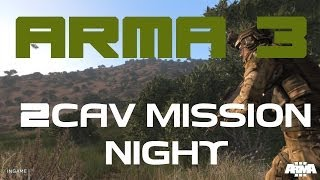 Download ARMA 3 2CAV MISSION NIGHT ″TAKING PYRGOS″ 11/10/13 Video