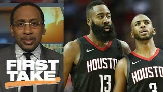 Download Stephen A. Smith believes in James Harden because of Chris Paul | First Take | ESPN Video