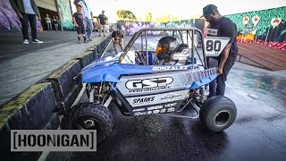 Download [HOONIGAN] DT 209: 11 Year Old Thrashes a Mini UTV Video