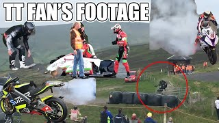 Download Isle of Man TT 2018 | Fan's Footage Highlights & Crashes Video