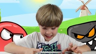 Download Red Ball 4   Mobile Games   KID Gaming Video