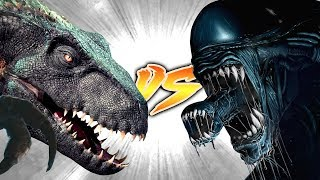 Download INDORAPTOR VS XENOMORPH [Who Would Win?] Video
