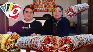 Download UNO KARTLI DÜRÜM DÖNER YEME KAPIŞMASI-KİM PES EDECEK Video