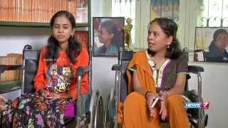Download Phoenix pengal - Two sisters living with Muscular Dystrophy | News 7 Tamil Video