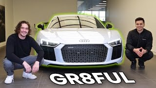 Download Picking Up My Dream Car! 2017 Audi R8 V10 Plus + Laser Retrofit Video