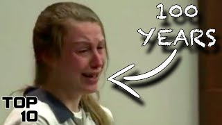 Download Top 10 Teenagers Who Freaked Out After Given A Life Sentence Video