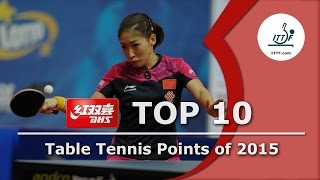 Download Top 10 Table Tennis Points of 2015 Video