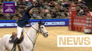Download Fuchs takes gold in Basel, Houtzager and Devos complete top 3 | Longines FEI Jumping World Cup Video