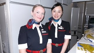 Download Japan Airlines First Class Experience - Tokyo to London Best Flight! Video