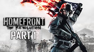 Download Homefront The Revolution Walkthrough Part 1 - The Voice of Freedom (PC Ultra Let's Play Commentary) Video