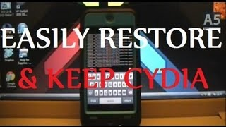 Download RESTORE YOUR DEVICE WITHOUT UPDATING OR LOSING JAILBREAK Video