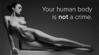 Download Uncensored: Your naked body is not a crime. Is nude art photography obscene? Video