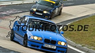 Download BMW E36 M3 3.0 vs. very fast E36 M3 3.2 / Nürburgring Nordschleife / Touri 23.10.2016 Video