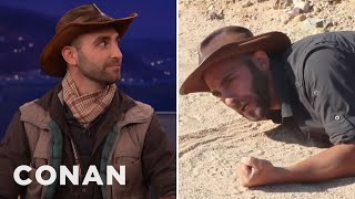Download Coyote Peterson Has Been Stung By The Most Dangerous Insects On The Planet - CONAN on TBS Video
