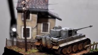Download Tiger Tank 1 72 Pocket Diorama Fun Build Video