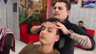 Download ASMR Turkish Barber Face,Head and Back Massage 82 Video