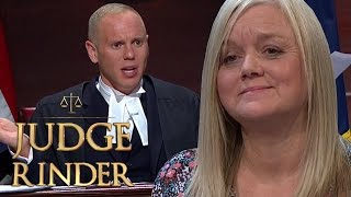 Download Judge Rinder Proves Woman Lied and Sent Threats to Business Owner | Judge Rinder Video