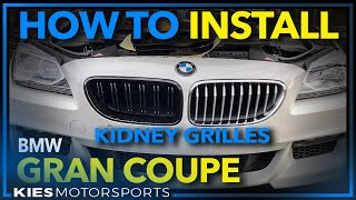 Download Quick BMW Gran Coupe Grille Installation Video