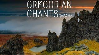 Download Gregorian Chants at 432Hz | 3 Hours of Healing Music Video