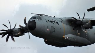 Download AIRBUS A400M VERY LOW FLYPAST + TOUCH AND GO! @ AIRPOWER ZELTWEG 2016 Video