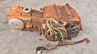 Download 1980 Super Cub C50 Engine RESTORATION | Restoration of 1980 Honda Super Cub C50 Part2 Video