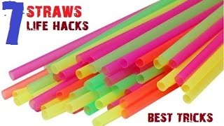 Download TOP 7 Creative life hacks with Drinking Straws Video