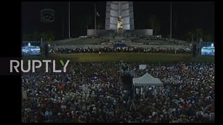 Download Cuba: Raul Castro honours Fidel's revolutionary legacy at mass rally Video