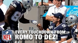 Download Every Tony Romo to Dez Bryant Touchdown Pass! | Tony Romo Retires | NFL Highlights Video