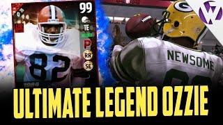 Download ULTIMATE LEGEND OZZIE NEWSOME IS UNSTOPPABLE - MADDEN 17 ULTIMATE LEGEND OZZIE NEWSOME GAMEPLAY Video