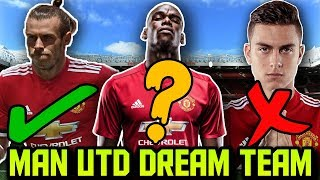 Download MANCHESTER UNITED Predicted Lineup 2018 With Potential TRANSFERS ft Sandro Bale Dybala Video