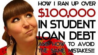 Download How I ran up over 100K in Student Loan Debt, and How to Avoid the Same Mistakes! Video