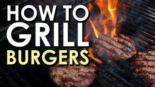 Download The Art of Grilling: How to Grill a Burger Video