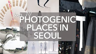 Download Top 10 Photogenic Places in Seoul, South Korea Video