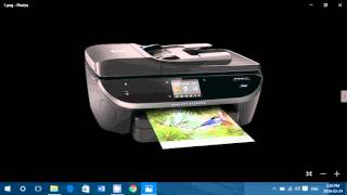 How to fix a HP Printer, not printing black ink and missing colours