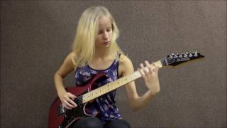 Download 2 Female Guitarists Shred Off! Laura Lace Vs Tina S Video