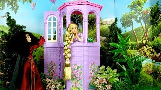 Download Barbie Rapunzel Bedroom Morning Routine - Cruise Ship with Elsa & Anna Video