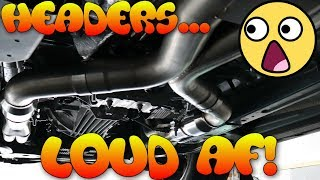 Download 2018-2019 Mustang GT Headers w/ Active Exhaust, Intake and Tune. First in the World Video