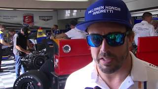Download Fernando Alonso - Fast Friday - Indy 500 Video